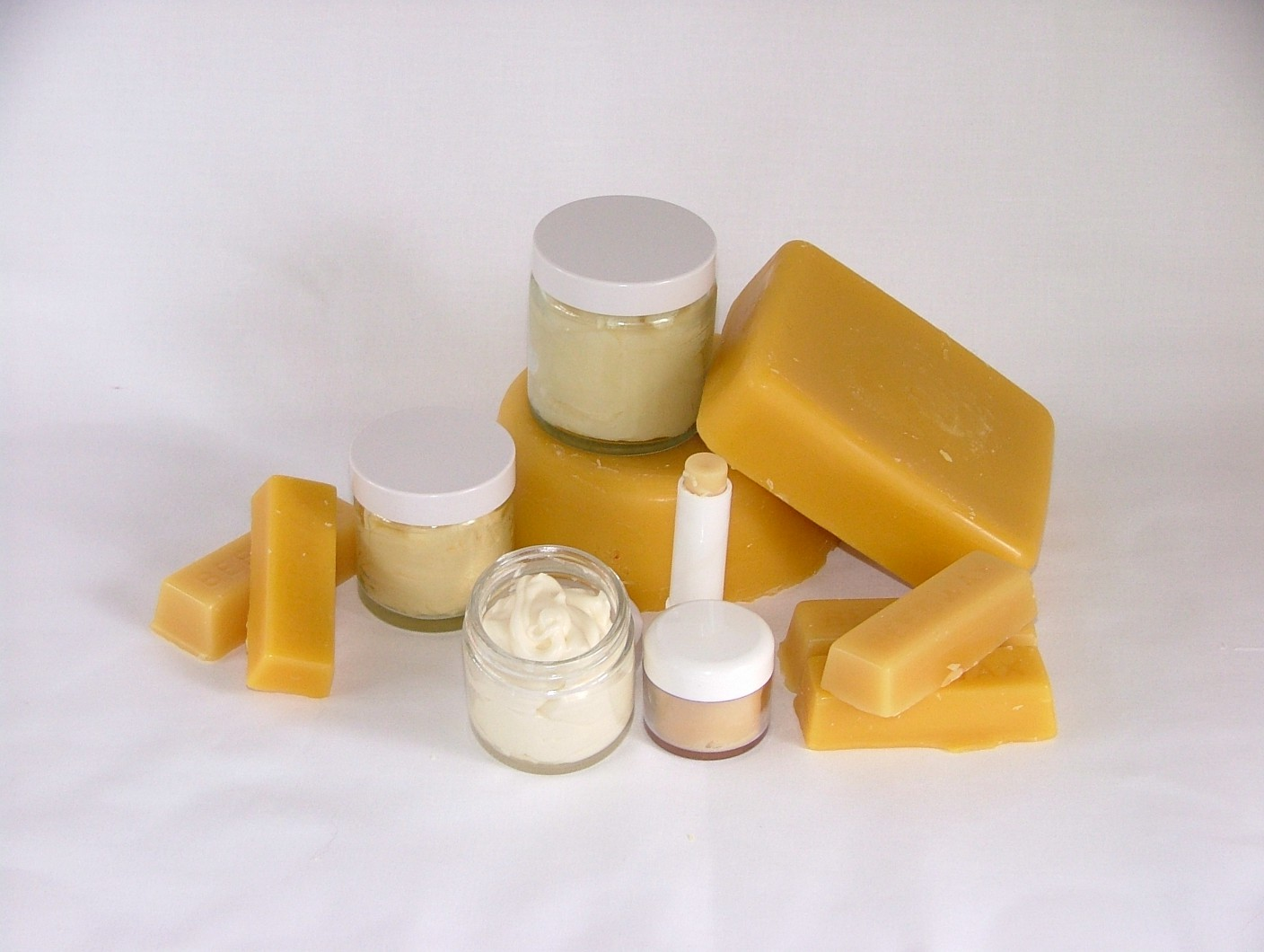 beeswax and skin creams